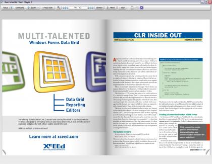 MSDN Magazine örnek sayfa
